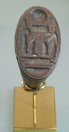 Bronze ring of SETI I: Dynasty 19-20, c. 1295-1070 B.C., Egypt, Middle Egypt, Tel el-Amarna (originally known as the city of Akhetaten).