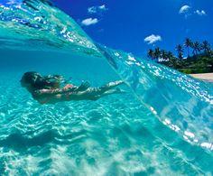 Makena Beach @ Molokini, HI