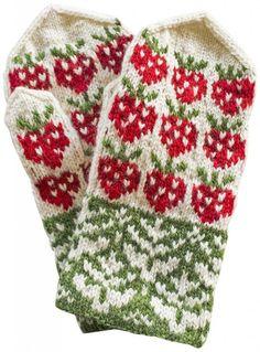 Mittens from the town of Valkeakoski, Finland ◇ Pirkanmaan paikkakuntalapaset. Fingerless Mittens, Knit Mittens, Knitting Socks, Mitten Gloves, Baby Knitting, Knitting Stitches, Knitting Designs, Knitting Projects, Knitting Patterns