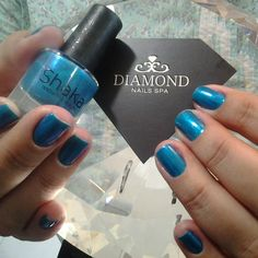 Shaka o esmalte do momento!  Venha conferir no Diamond Nails Spa. #diamondnailsspa #spa #nails #naildiamond #unhas #manicure  #esmalte #esmalteturco #instaunhas #instanails @suelincarvalho