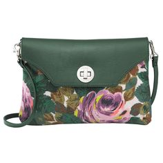 Oxford Rose Turnlock Clutch with Detachable Strap | Under £40 | CathKidston