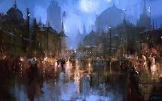 ArtStation - Moonlight, Darek Zabrocki
