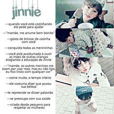 "→""ᴊᴀ ᴘᴀʀᴏᴜ ᴘʀᴀ ᴘᴇɴsᴀʀ ᴄᴏᴍᴏ sᴇʀɪᴀ ᴏ ʙᴀɴɢᴛᴀɴ sᴇɴᴅᴏ sᴇᴜ ɪʀᴍᴀᴏ, ɴᴀᴍᴏʀᴀᴅᴏ, ғɪʟʜᴏ ᴏᴜ ᴀᴛᴇ sᴇɴᴅᴏ sᴇᴜ ᴅᴀᴅᴅʏ? ᴘᴏʀǫᴜᴇ ᴇᴜ ᴊá ᴇ ᴅᴇɪxᴇɪ ᴛᴜᴅᴏ ᴀǫᴜɪ ʀᴇɢɪsᴛʀᴀᴅᴏ. Bts Fanfiction, Fanfic Kpop, Bts Jin, Bts Bangtan Boy, Seokjin, Namjoon, Taehyung, Imagine Jin, K Pop"