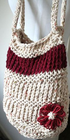 Loom Knit Day Bag
