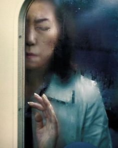 @James Freeman One of the most evocative contemporary photography series I have seen in a while is Michael Wolf's Tokyo Compression. The German shoots people in the subway trains of the Japanese capital. The result is breathtaking: an emotional collection of commuting individuals, with each portrait telling a unique story.