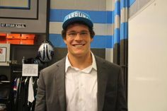 Luke Kuechly.....adorable! I am inspired to love the panthers again!