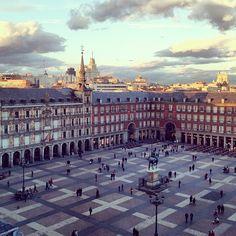 Plaza Mayor, Madrid (from the Instagram album @Victoriano Izquierdo Izquierdo )