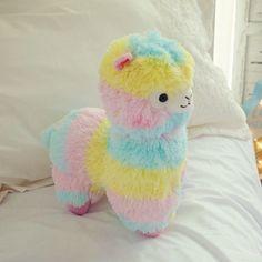 Rainbow Kawaii Alpaca Llama