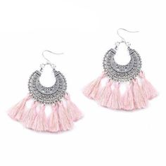 Boho Tassel Vintage Drop Earrings 7 colors