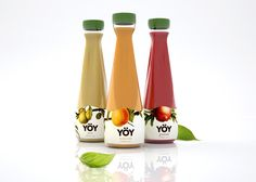 YOY Organic Juice (Student Project) on Packaging of the World - Creative Package Design Gallery
