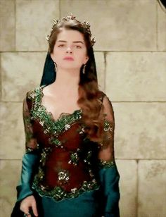 """Mihrimah Sultan - Magnificent Century - """"Price of Three Words"""" Season Episode 13 Cute Girl Poses, Queen Dress, Stylish Girl Images, Turkish Beauty, Period Costumes, Russian Fashion, Pakistani Outfits, Couture Collection, Most Beautiful Women"""