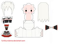 Sukone Tei Papercraft by Furikisundama