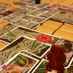 Getting a game of #vastywilds in. I love this game #boardgames #boardgamegeek #tabletopgames #tabletop #bgg #prototype Follow us at http://ift.tt/1DW0xF2 #indietabletop #boardgames #tabletop #games