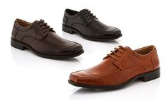 Groupon - Franco Vanucci Men's Dress Shoes in [missing {{location}} value]. Groupon deal price: $34.99