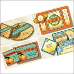 Vintage Canning Labels and Tags