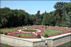 Chenonceau - le Jardin de Catherine de Médicis