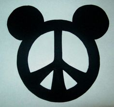 Mickey Mouse Cut Out Stencils | Mickey Head Template