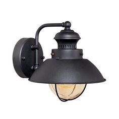 Vaxcel Nautical 1 Light Outdoor Wall Lantern & Reviews | Wayfair $46