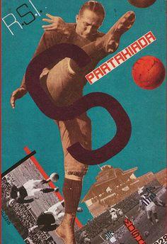 Плакат к первой всесоюзной Спартакиаде, 1928 год