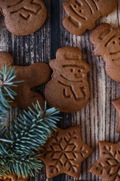 najlepsze pierniczki Gingerbread Cookies, Origami, Creative, Food, Thermomix, Gingerbread Cupcakes, Essen, Origami Paper, Meals