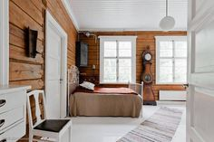 Ideas and inspiration Wonderful Dream, Log Homes, My Dream Home, Mid-century Modern, Sweet Home, Minimalist, Mid Century, Farmhouse, Cottage