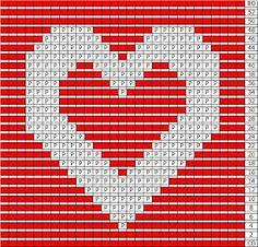 A Knitting Mountain: Love Washcloth Pattern