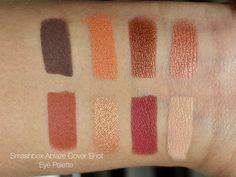 Makeupwithmona: Smashbox Ablaze Cover Shot Eye Palette Review & Swatches