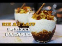 Riz au Lait, pommes et caramel au beurre salé - HerveCuisine.com
