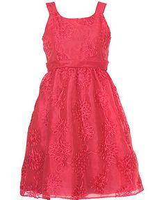 Rare Editions Kids Dress, Girls Soutache Dress - Kids Dresses - Macy's