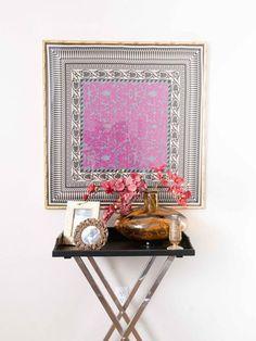 Un blog de decoración a mi manera...: Decorando con pañuelos.