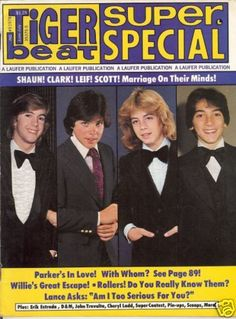 1978 Tiger beat (super special)--I think I had this one!