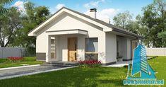 proiect de casa cu parter 120m2 design fatada