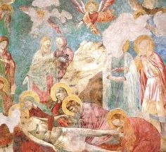 Giotto Di Bondone - Scenes from the New Testament Lamentation