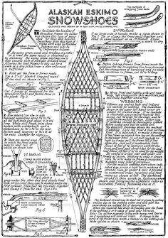 Живые истории Ледникового Периода » Архив блога » Анатомия снегоступов. Часть первая.