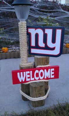 New York giants landscape light