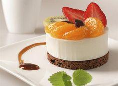 Tarta helada con frutos DISTRIBUCIÓN DE ALIMENTOS GOURMET Y ARTICULOS PARA RESTAURANTES