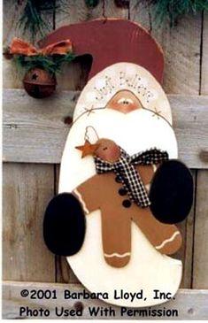 000167 (3) Just Believe Santas-