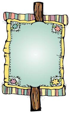 etiquettes,pancartes,tubes,scrap Cute Clipart, Frame Clipart, Borders For Paper, Borders And Frames, Contour Images, Cute Frames, Frame Background, Paper Frames, Border Design