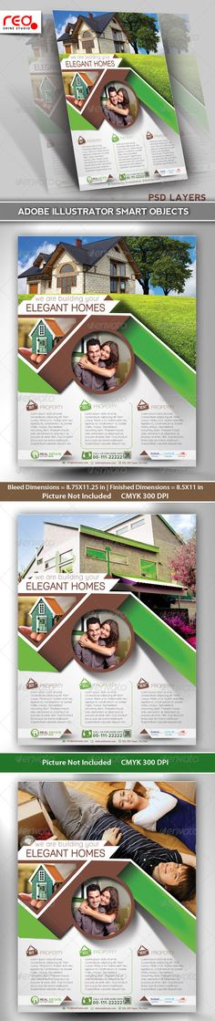 #Real #Estate Flyer/Poster Template - Commerce #Flyers Download here: https://graphicriver.net/item/real-estate-flyerposter-template/5317375?ref=alena994