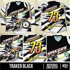 Jersey Motocross Trakers Sublimation Print