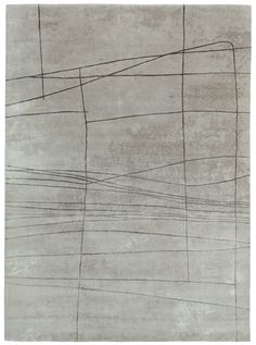 Light grey – grey brown. Hand knotted in wool + silk, pattern in silk. Made in Nepal. Design Kristiina Lassus.