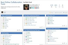 New: Best Online Collaboration Tools - 370+ Tools Organized and Ranked By Category -