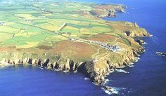 Land's End Cornwall, England