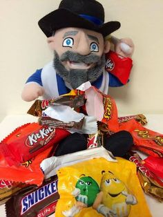 There's no such thing as too much candy. | Halloween | Mensch on a Bench