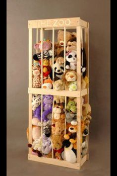 Teddybear storage  From http://www.facebook.com/pages/Parenting-Hub/111527862245094