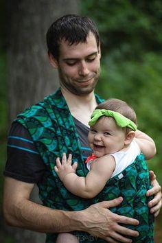 PEACOCK EYES - NATIBABY - Baby Wraps, Slings, Bedding, Nursing Tops
