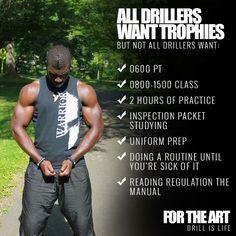 Motivating drill team apparel at http://www.ftaclothing.com #drillislife