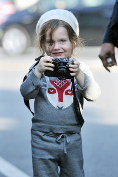 Rachel Zoe's son Skyler turns his camera on the Paparazzi
