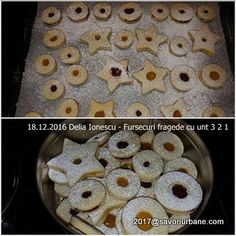 Fursecuri fragede cu unt 3 2 1 | Savori Urbane Unt, Cookie Recipes, Biscuits, Cereal, Cookies, Breakfast, Activities, Food, Recipes For Biscuits