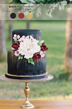 13 Wedding Cakes that Wow! www.theperfectpal... - Tips for How to Design the Cake of Your Dreams!